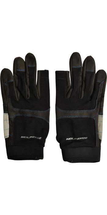 Neil Pryde Regatta Full Finger Sailing Gloves 630540 - Black