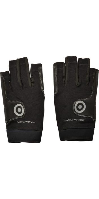 Neil Pryde Junior Regatta Half Finger Sailing Gloves 630541 - Black