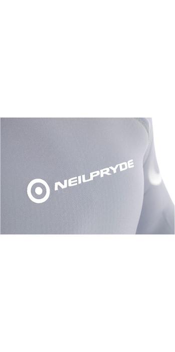Neil Pryde Womens Elite Firewire 3mm Long Sleeve Top Saphire / Glacier SAB603