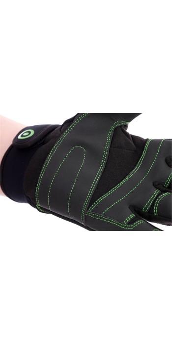 Neil Pryde Raceline Half Finger Sailing Glove WUKSARGH - Black