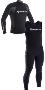 2018 Neil Pryde Raceline 3/2mm Neoprene Top & Long John Combi Black