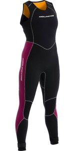 Neil Pryde Womens Elite Firewire 3mm Long John Wetsuit 630207 - Black / Plum