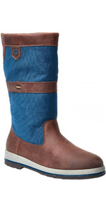 2019 Dubarry Shamrock Gore-Tex Leather Sailing Boots Navy / Brown 3733