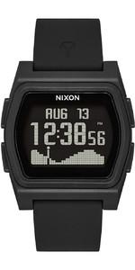 2021 Nixon Rival Surf Watch 010-00 - All Black