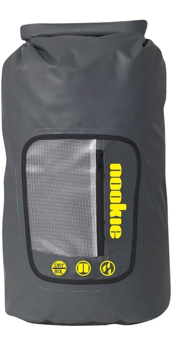 Nookie 80 Litre Dry Bag with Ruck Sack Straps AC062