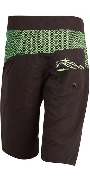 2020 Nookie Boardies Boardshorts Black / Green SW010