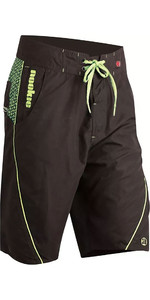 2019 Nookie Boardies Boardshorts Black / Green SW020