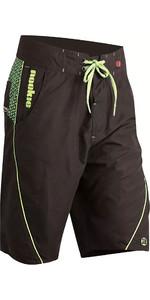 2020 Nookie Boardies Boardshorts Black / Green SW020