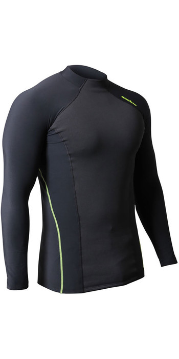 2020 Nookie Core Hybrid Long Sleeve Base Layer Black / Green TH30