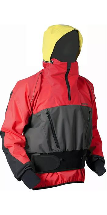 2021 Nookie Mens Storm Touring Jacket Red / Grey JA22