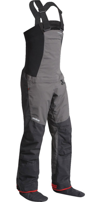 2020 Nookie Pro Bib Single Waist Dry Trousers Charcoal Grey TR11