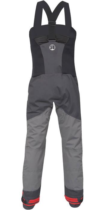 2021 Nookie Pro Bib Single Waist Dry Trousers TR11 - Grey / Black