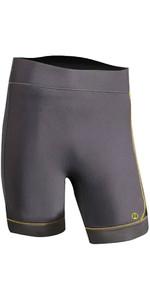 2020 Nookie Short Stride 3mm GBS Neoprene Shorts NE60 - Grey / Yellow