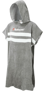 2020 Northcore Beach Basha Change Robe Grey Stripes NOCO24L