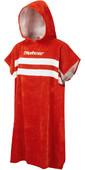 2021 Northcore Beach Basha Change Robe / Poncho Red Stripes NOCO24M