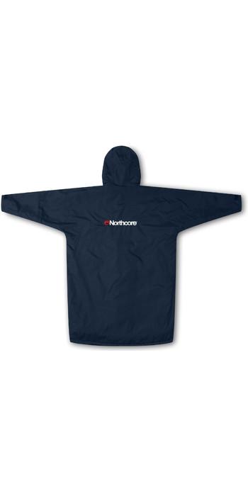 2021 Northcore Beach Basha Sport Long Sleeve Change Robe Blue NOCO24N