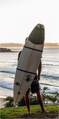 2020 Northcore Surf Strap Board Carry NOCO16C