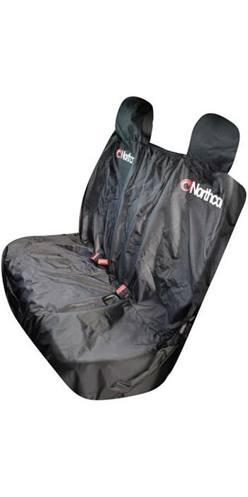 2021 Northcore Waterproof Car Triple Rear Seat Cover BLACK NOCO07