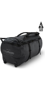 2021 Northcore Wheeled Duffel Bag 110L NOCO123D - Black / Grey