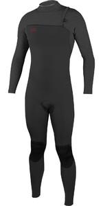 2019 O'Neill Mens HyperFreak Comp 3/2mm Zipperless Wetsuit Gaphite 4970
