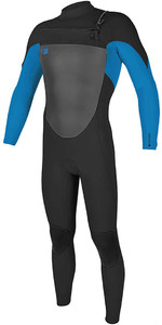 2018 O'Neill O'riginal 5/4mm Chest Zip Wetsuit BLACK / OCEAN 4996