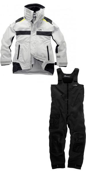2018 Gill OC Racer Jacket OC11J & Trouser OC11T COMBI SET Silver / Graphite