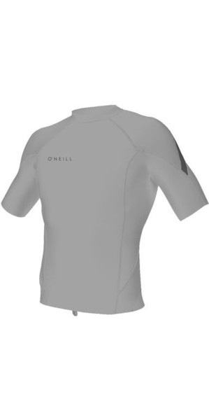 2018 O'Neill Reactor II 1mm Neoprene Short Sleeve Top MENS COOL GREY SECOND 5081