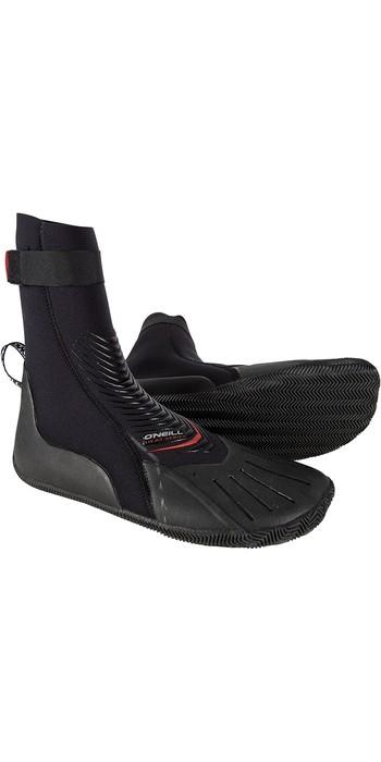 2020 O'Neill Heat 3mm Round Toe Boot Black 4788
