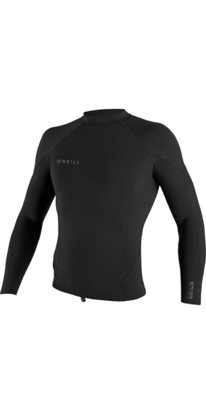 2018 O'Neill Reactor II 1.5mm Neoprene Long Sleeve Top BLACK 5080