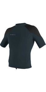 2018 O'Neill Reactor II 1mm Neoprene Short Sleeve Top SLATE 5081