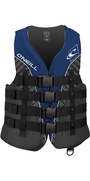 2018 O'Neill Superlite 50N CE Impact Vest PACIFIC/SMOKE / BLACK 4723