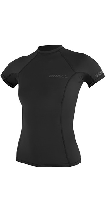 O'Neill Womens Thermo-X Short Sleeve Top BLACK 5008