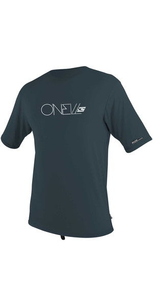 2018 O'Neill Youth Premium Skins Short Sleeve Rash Tee SLATE 4117