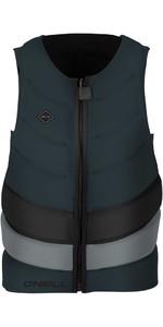 O'Neill Gooru Tech Front Zip Comp Impact Vest SLATE / COOL GREY 4916EU
