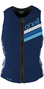 O'Neill Womens Slasher Comp Impact Vest NAVY / INDIGO 4938EU
