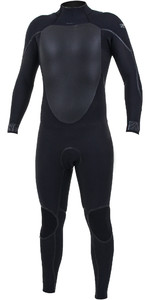 2020 O'Neill Mens Psycho Tech+ 5/4mm Back Zip Wetsuit 5361 - Black