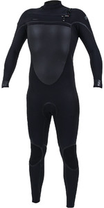 2021 O'Neill Mens Psycho Tech 4/3mm Chest Zip Wetsuit 5337 - Black