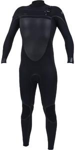 2020 O'Neill Mens Psycho Tech+ 5/4mm Chest Zip Wetsuit 5365 - Black