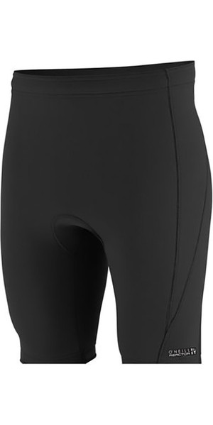 2018 O'Neill Reactor II 1.5mm Neoprene Shorts BLACK 5083