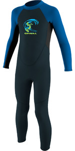 2020 O'Neill Toddler Reactor 2mm Back Zip Wetsuit Slate / Aqua 4868