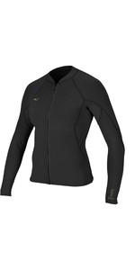2019 O'Neill Womens Bahia 1mm Full Zip Long Sleeve Neoprene Jacket Glide Black 4933