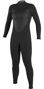 2021 O'Neill Womens Epic 3/2mm Back Zip GBS Wetsuit 4213B - Black