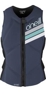 2019 O'Neill Womens Slasher Comp Impact Vest Mist / Graphite 4938EU