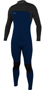 2019 O'Neill Youth Hyperfreak Comp 3/2mm Zip Free Wetsuit Abyss / Graphite 5006
