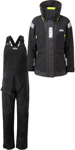 2020 Gill OS2 Womens Offshore Jacket OS24JW & Trouser OS24TW Combi Set Black