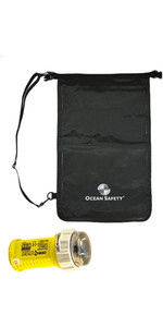 2021 Ocean Safety Odeo Strobe & Slim Grab Bag 15L - Black