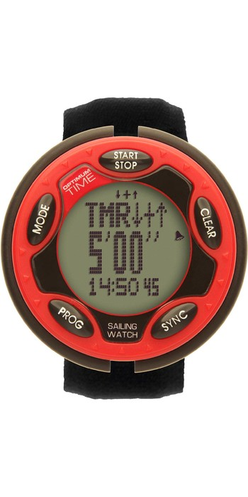 2021 Optimum Time Series 14 Rechargeable Sailing Watch 1456R - Red