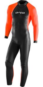 2021 Orca Mens Openwater Core Wetsuit LN270801 - Black / Hi-Vis