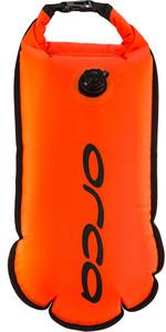 2021 Orca Open Water Safety Buoy LA480054 - Hi-Vis Orange