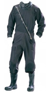 Typhoon Patrolmans Breathable Commercial Industrial Drysuit BLACK 120102